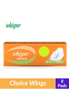 Whisper Choice Wings Sanitary Pads - 7 pieces