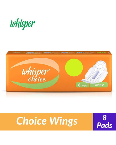 Whisper Choice Wings Sanitary Pads - 7 pieces-BM1085