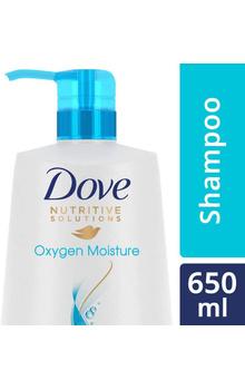 Dove Shampoo - Oxygen Moisture 650ml Pump