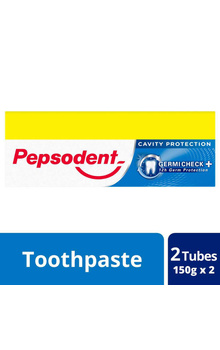 Pepsodent Germicheck Combo Toothpaste 150gx2