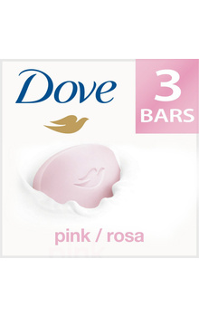 Dove Soap - Pink/Rosa Beauty Bathing Bar 100g