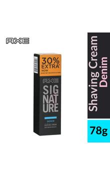Axe Signature Denim Lather Shaving Cream - 78...