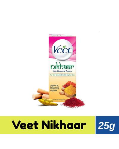 Veet Hair Removal Cream - Nikhaar All Skin Ty...-BM1102