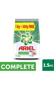 Ariel Complete Detergent Washing Powder 1.5kg