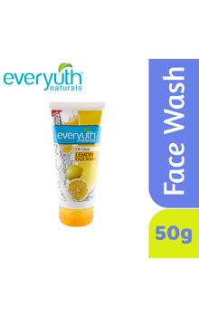 Everyuth Naturals Lemon Face Wash - 50g