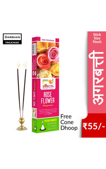 Darshan Effects Insence Sticks - Rose Flower ...
