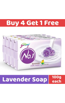 Godrej No.1 Soap - Lavendar Milk Cream 100g (...