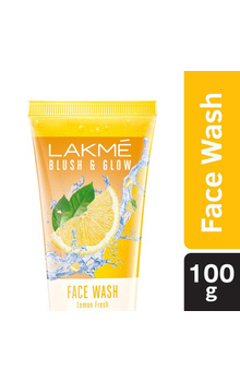 Lakme Blush & Glow Lemon Fresh Gel Face Wash ...