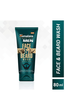 Himalaya Men Face & Beard Wash - 80ml