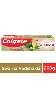 Colgate Swarna Vedshakti Toothpaste Ayurvedic...
