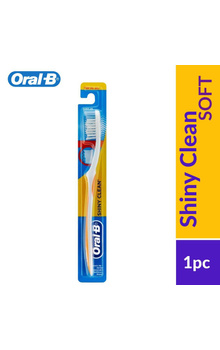 Oral-B Shiny Clean Soft ToothBrush 1Pc(Colour...