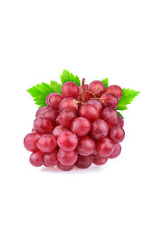 Grapes - Red (Globe)/Angoor Imported, 1 kg