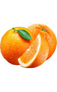 Orange - Imported, 4 pcs