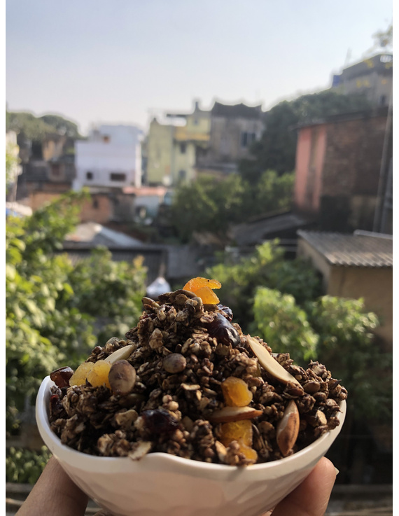 WEIGHT LOSS GRANOLA CEREAL-CHOCOLATE FLAVOUR-1