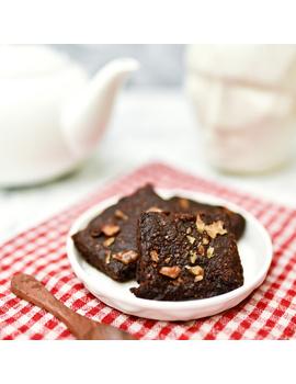 Gluten Free Walnut Brownies-TNL014-sm