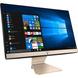 Asus Vivo V222UAK-BA084T 21.5-inch All-in-One Desktop (Core i3-8130U/4GB/1TB/Windows 10/Integrated Graphics, Black)-1-sm