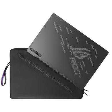 ASUS ROG R9-4900HS/RTX2060-MaxQ-6GB/8G+8G/1T SSD/14.0 QHD-60hz/Backlit/WIFI6/WIN10/MS office/Eclipse Gray- AniMe Matrix/GA401IV-HA181TS/Accy in box: Sleeve-3