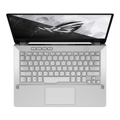 ASUS ROG GA401II-BM129TS  R5-4600HS/ GTX1650Ti-MaxQ (4GB)/ 8G/ 512G SSD/ 14.0 FHD-60hz/ 76Wh/ Moonlight White/ MS office/ Accy in box: Sleeve-3