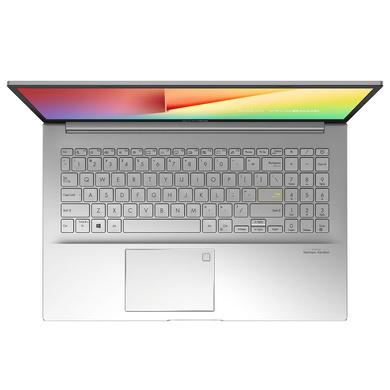 "ASUS Vivobook Ultra K513EA-EJ563TS (i5-1135G7 / 16GB RAM / 256 SSD + 1TB HDD/15.6""FHD/1Y International Warranty + McaFee/Office H&S/Windows 10/Backlit KB/Finger Print/1.6Kg/ Transparent Silver-1"