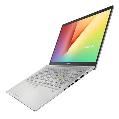 "ASUS Vivobook Ultra K513EA-EJ563TS (i5-1135G7 / 16GB RAM / 256 SSD + 1TB HDD/15.6""FHD/1Y International Warranty + McaFee/Office H&S/Windows 10/Backlit KB/Finger Print/1.6Kg/ Transparent Silver-2"