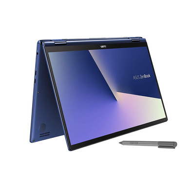 ASUS ZenBook Flip 13 UX362FA Intel Core i5 8th Gen 13.3-inch FHD Touchscreen 2-in-1 Thin & Light Laptop (8GB RAM/512GB NVMe SSD/Windows 10/Integrated Graphics/Royal Blue/1.30 Kg), UX362FA-EL501T-UX362FA-EL501T
