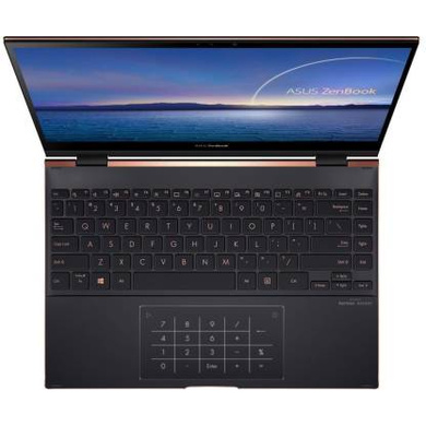 Asus ZenBook Flip S OLED Core i7 11th Gen - (16 GB/1 TB SSD/Windows 10 Home) UX371EA-HL701TS Thin and Light Laptop  (13.3 inch, Jade Black, 1.20 kg, With MS Office)-1