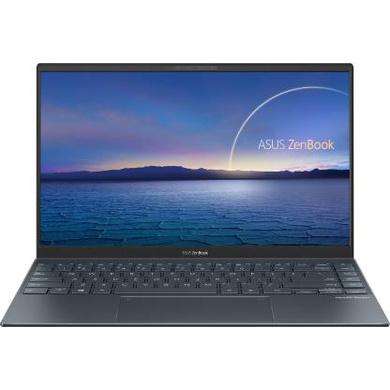 ASUS ZenBook 14 (2020) Intel Core i5-1035G1 10th Gen 14-inch FHD Thin and Light Laptop (8GB RAM/512GB NVMe SSD/Windows 10/MS Office 2019/Integrated Graphics/Pine Grey/1.17 kg), UX425JA-BM076TS-UX425JA-BM076TS