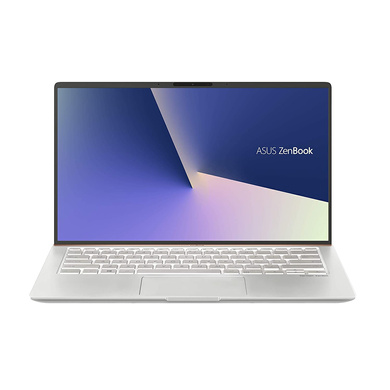 ASUS ZenBook 14 UX433FA-A6111T 14-inch FHD Thin and Light Laptop (8th Gen Intel Core i7-8565U/8GB RAM/512GB PCIe SSD/Windows 10/Integrated Graphics/1.19 Kg), Icicle Silver Metal-UX433FA-A6111T
