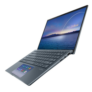 Asus ZenBook 14 UX435EG-AI701TS i7-1165G7/MX450 2GB/1TB SSD/16GB/14.0″ FHD IPS TOUCH/Win10 + Office H&S 2019/Pine Grey/1Y Warranty-1