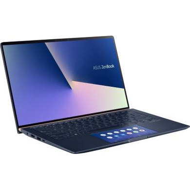 ASUS ZenBook 14 Core i7 8th Gen - (16 GB/1 TB SSD/Windows 10 Home/2 GB Graphics) UX434FL-A7801T Thin and Light Laptop  (14 inch, Royal Blue, 1.35 kg)-UX434FL-A7801T