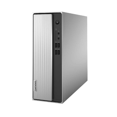 Lenovo IdeaCentre 3 Desktop (10th Gen Intel Core i3-10100/4GB/1TB HDD/DOS/Integrated Intel UHD Graphics/WiFi 5/Bluetooth 5.0), Mineral Grey - 90NB0020IN-90NB0020IN