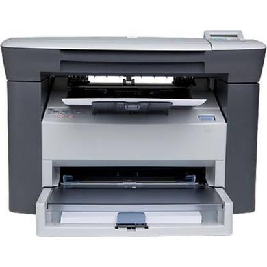 HP HP1005 Multi-function Monochrome Laser Printer  (White, Toner Cartridge)-HP1005