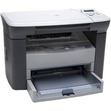 HP HP1005 Multi-function Monochrome Laser Printer  (White, Toner Cartridge)-1