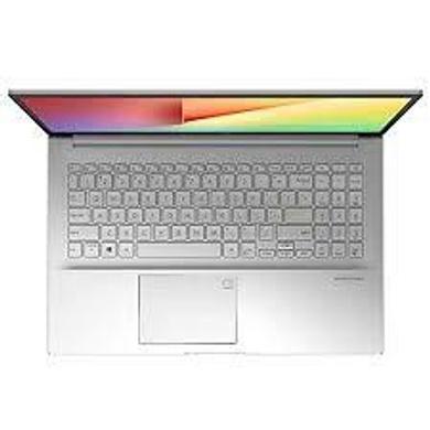 """ASUS VIVOBOOK i3-1115G4//4G/256 PCIe SSD/TRANSPARENT SILVER/15.6""""FHD vIPS/1Y international warranty + McAfee/Office H&S/Backlit KB/Finger Print - K513EA-BQ303TS-1"""