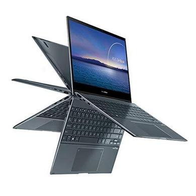 """ASUS ZENBOOK i5-1135G7//8G/512G PCIe SSD + Optane 32G/PINE GREY/13.3"""" FHD OLED TOUCH/1Y international warranty + MacFee/Office H&S/Stylus/Sleeve/TypeC to Audio Jack/TPM/NUMBER PAD - UX363EA-HP501TS-3"""