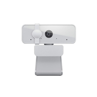 Lenovo™ 300 FHD Webcam with Full Stereo Dual Built-in mics / FHD 1080P 2.1 Megapixel CMOS Camera /Ultra-Wide 95° Lens / 360° Rotation / Flexible Mount-GXC1B34793
