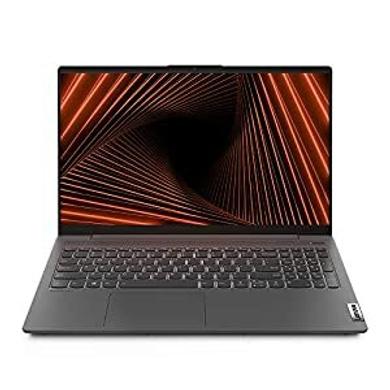 "Lenovo IdeaPad Slim 5 11th Gen Intel Core i5 15.6"" (39.63cm) FHD IPS Thin & Light Laptop (16GB/512GB SSD/Windows 10/MS Office/Nvidia GeForce MX450 2GB/Fingerprint Reader/Graphite Grey/1.66Kg), 82FG014-82FG0148IN"