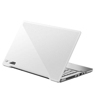 Asus Laptop Rog Zephyrus G14 R5-4600Hs/ 8 GB DDR4 Ram/ 512 GB DSSD/ 14 inch FHD-120Hz/ Backlit/ Wifi6/ 76Wh/ Windows 10/ Mso H&S 2019/ Gtx1650Ti-4 GB/ Moonlight White, 2.5 Kg  GA401II-HE233TS-GA401II-HE233TS