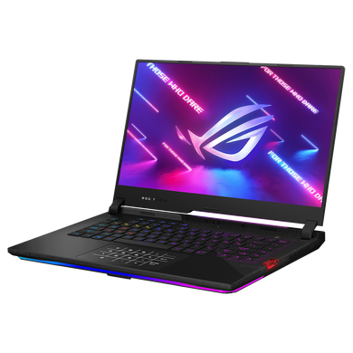 ASUS ROG Gaming Laptop R9-5900HX/ RTX3080- 8GB/ 8G+8G/ 1T SSD/ 15.6 FHD-300hz/ Backlit KB- Per key RGB/NumPad/ 90Wh/ Win 10/ Office Home & Student 2019/ / 1A-BLACK G533QS-HF210TS-1