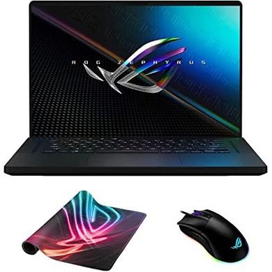 ASUS ROG Gaming Laptop i7-11800H/ RTX3060- 6GB/ 8G+8G/ 1T SSD-Gen4/ 16.0 QHD-165hz/ Backlit KB- 1 zone RGB/ 90Wh/ Win 10/ Office Home & Student 2019/ / 2A-OFF-BLACK GU603HM-K8073TS-GU603HM-K8073TS
