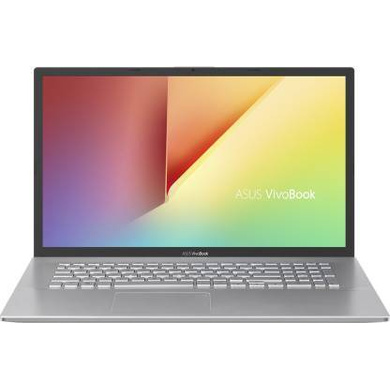 """ASUS Laptop R5-5500U//16G/512 PCIe SSD/TRANSPARENT SILVER/17.3""""FHD/1Y international warranty/Office H&S+MACAFEE/Backlit KB M712UA-AU521TS-M712UA-AU521TS"""