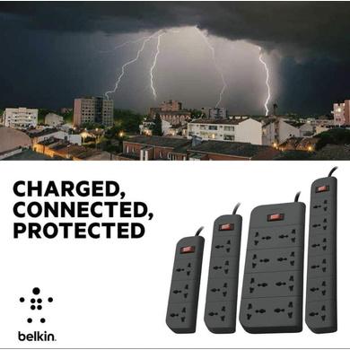 SURGE PROTECTOR BELKIN 6 SOCKET-4