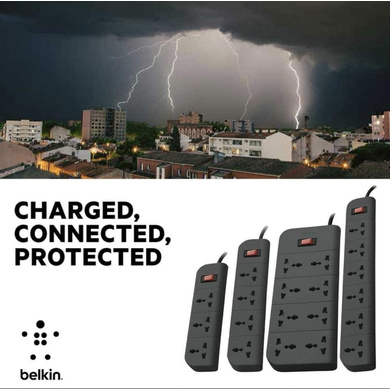 SURGE PROTECTOR BELKIN 4 SOCKET-4
