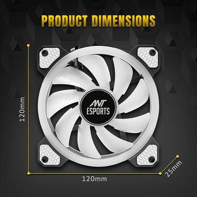 CPU FAN ANT ESPORTS SUPERFLOW 120 RGB V2-4