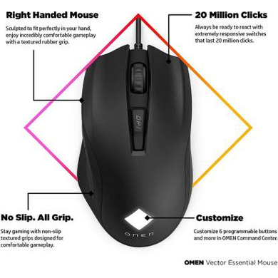 MOUSE GAMING OMEN VECTOR ESSENTIAL-1