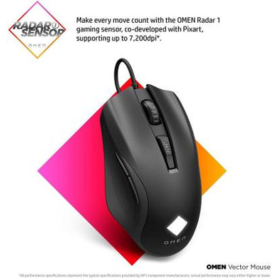 MOUSE GAMING OMEN VECTOR ESSENTIAL-2