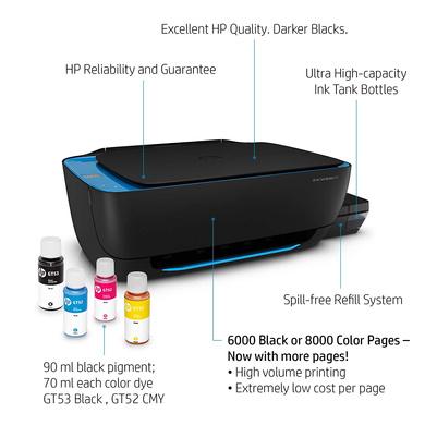 PRINTER HP INK TANK 419-4
