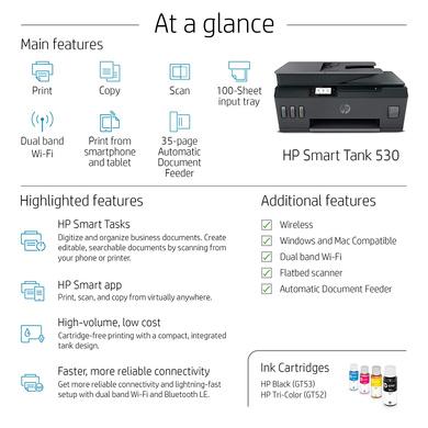 PRINTER HP SMART TANK 530-4