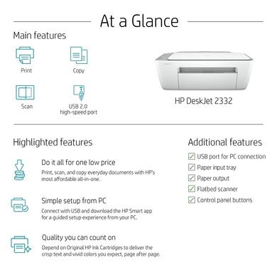 PRINTER HP DESKJET 2332-5