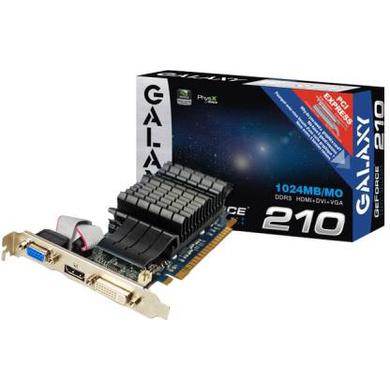 GRAPHICS CARD GALAX GT 210-CAS-GC-01